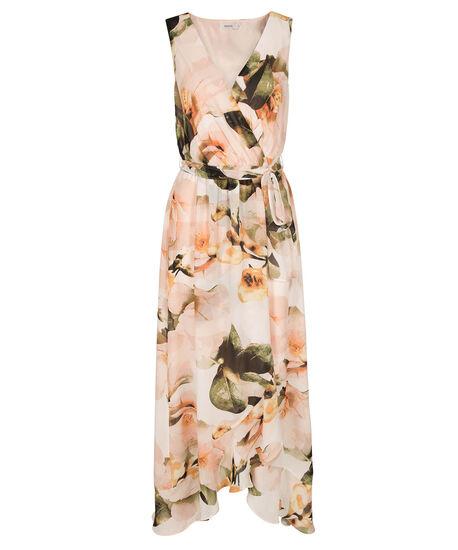 Tulip Floral Maxi Dress, Honeysuckle, hi-res