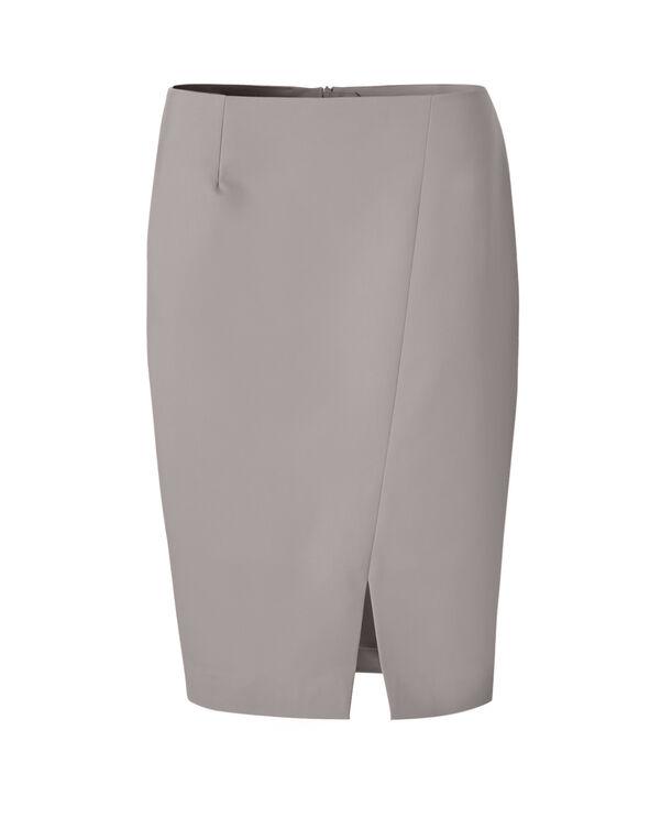 Neutral Pencil Skirt, Mushroom, hi-res