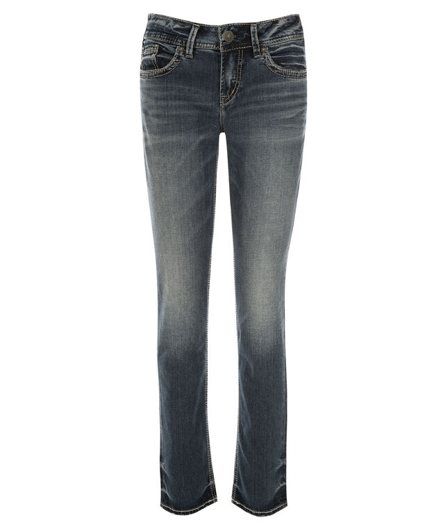 Silver Jeans Co. Elyse Straight Jean, Denim, hi-res