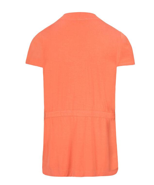Short Sleeve Cover-Up, Soft Orange, hi-res
