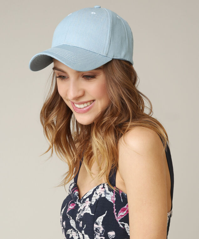 baseball cap, CHAMBRAY, hi-res
