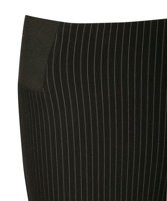 Microtwill Pinstripe Ankle, Black Pinstripe, hi-res