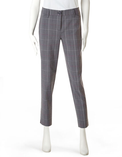 Every Body Berry Plaid Ankle Pant
