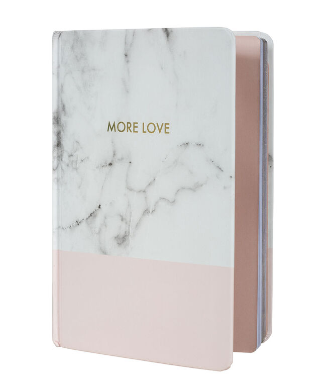 More Love Notebook, Light Pink/Grey/, hi-res
