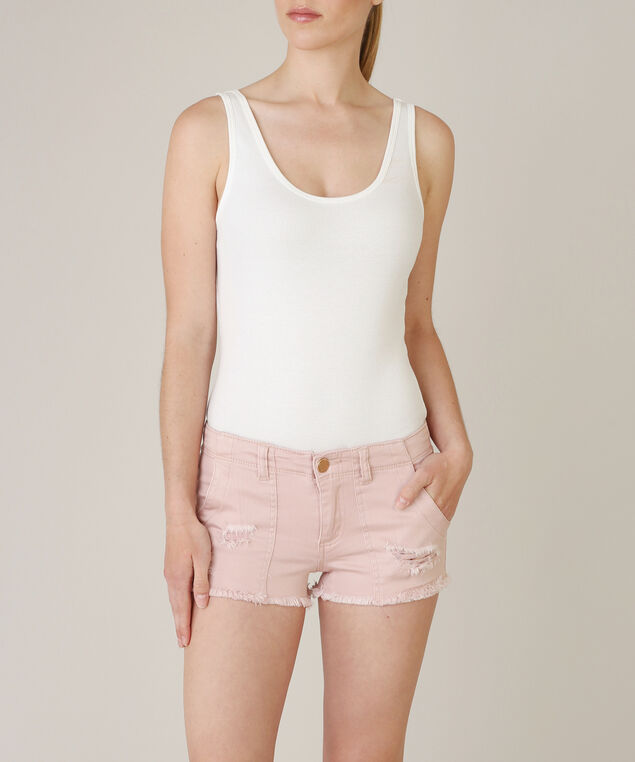 patch pocket short, DUSTY ROSE, hi-res