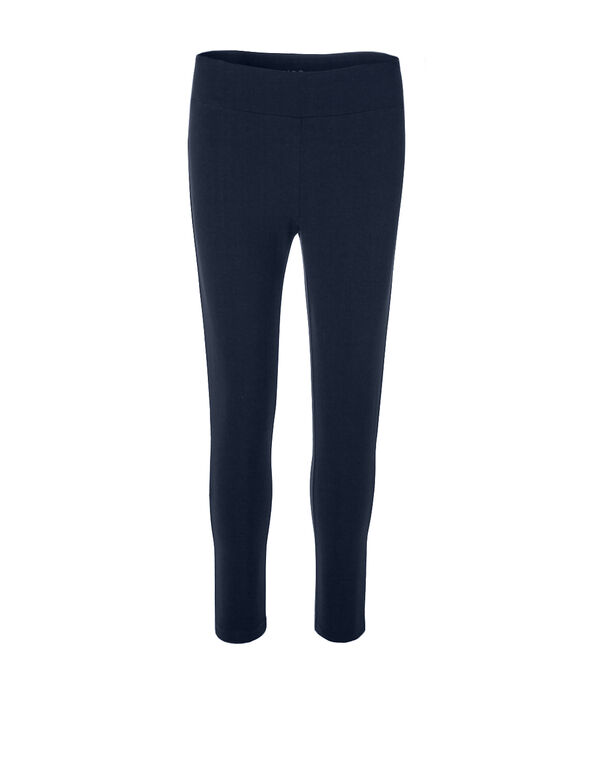 Navy Capri Legging, Navy, hi-res