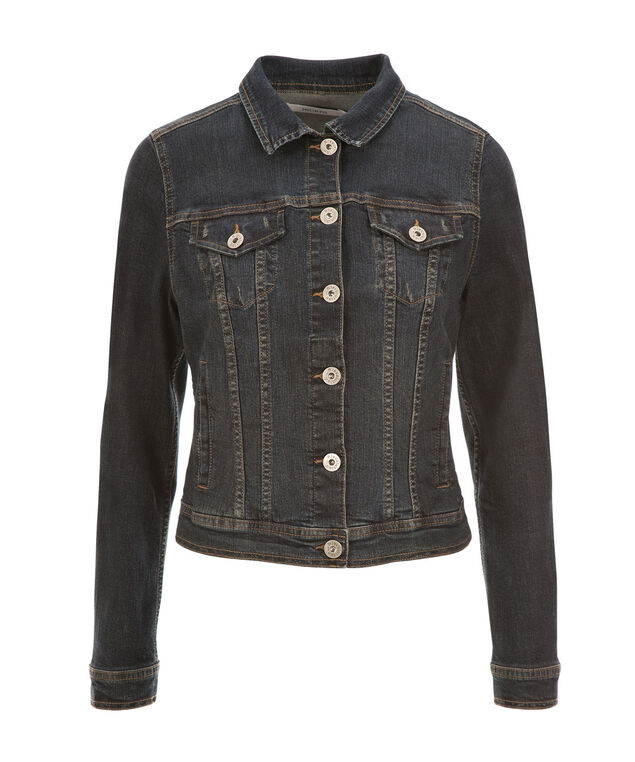 Dark Denim Jacket, Denim, hi-res