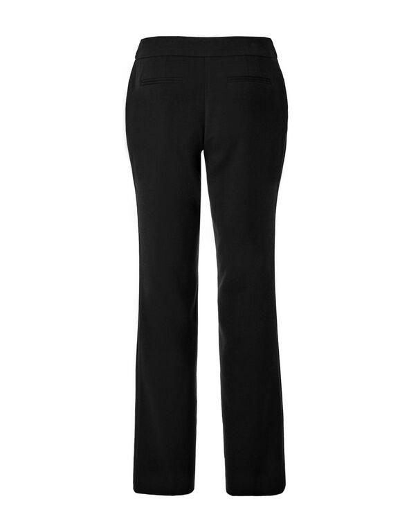 Black Straight Leg Pant, Black, hi-res