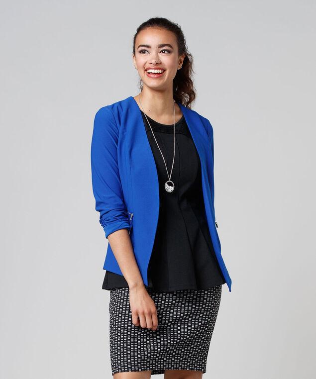 Pattern Skirt, Black/White/Grey, hi-res