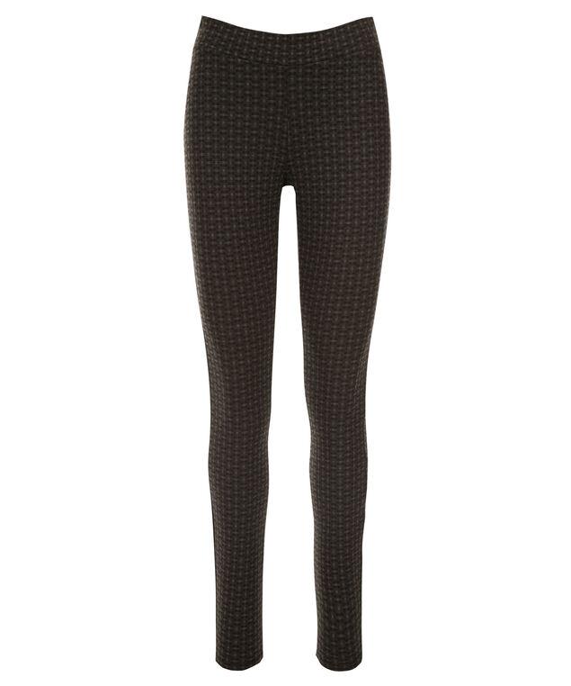 Luxe Ponte Legging, Black Print, hi-res