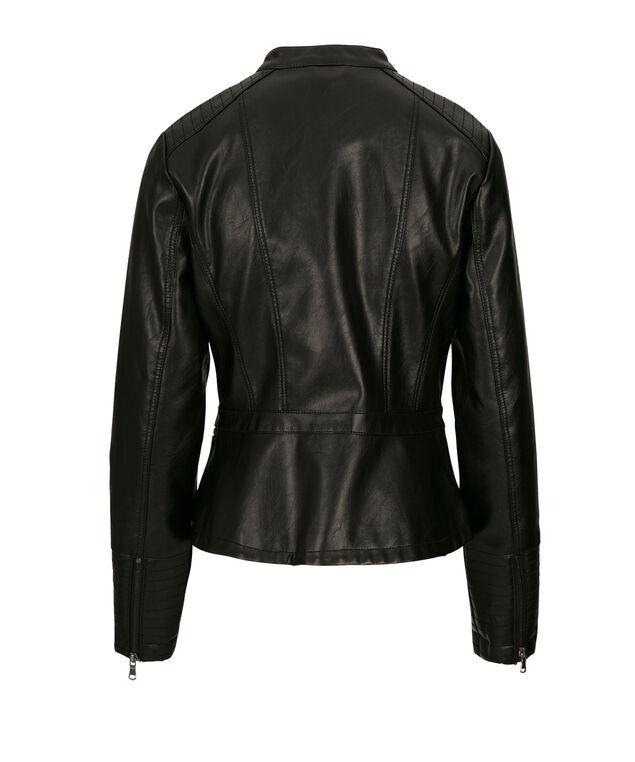 Zip Front Jacket, Black, hi-res