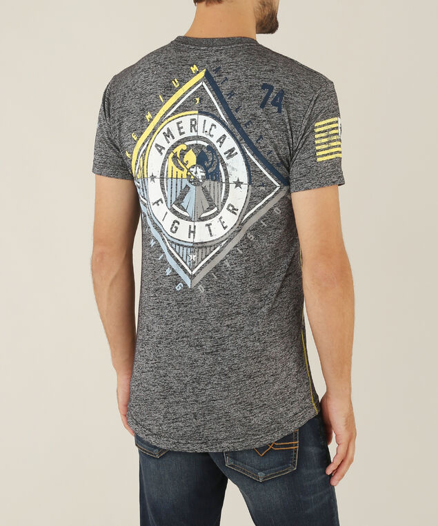 siena heights graphic tee - wb, BLACK, hi-res