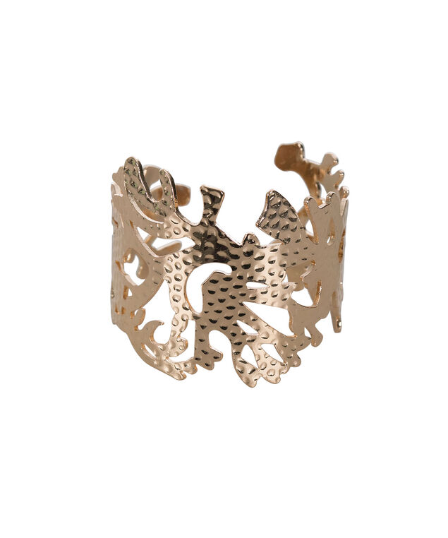 Coral Cuff Bracelet, Rose Gold, hi-res