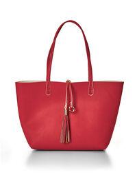 Coral Summer Tote Handbag