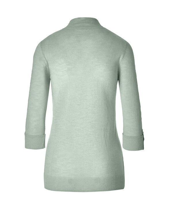 Mint Lightweight Cardigan, Mint, hi-res