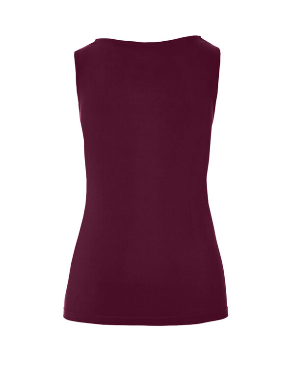 Claret Essential Layering Top, Claret, hi-res