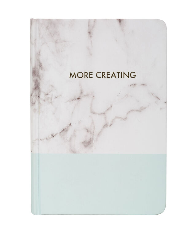 More Creating Notebook, Light Blue/Grey/White, hi-res