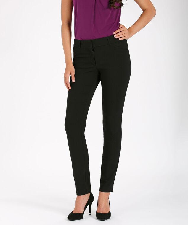 Microtwill Instant Smooth Slim Leg, Black, hi-res