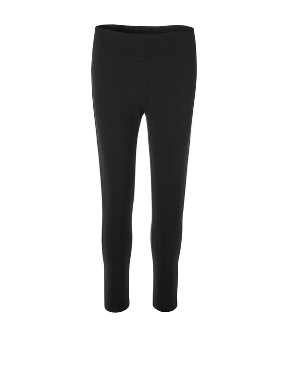 Black Capri Legging, Black, hi-res