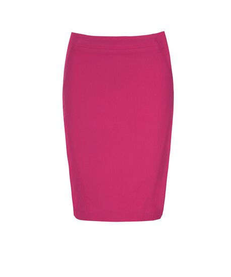 Pull On Pencil Skirt, Vibrant Pink, hi-res