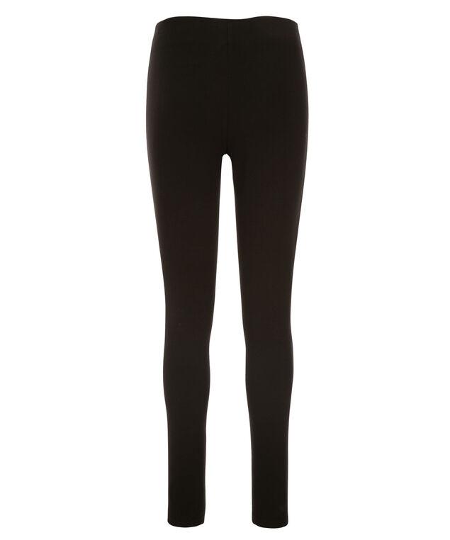 Luxe Ponte Zipper Seam Legging, Black, hi-res