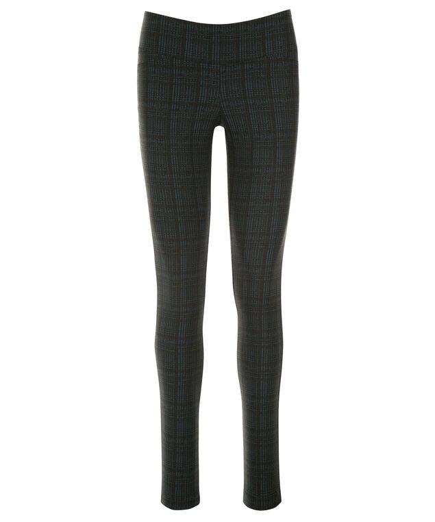 Microtwill Super Slim Leg, Teal/Black Plaid, hi-res