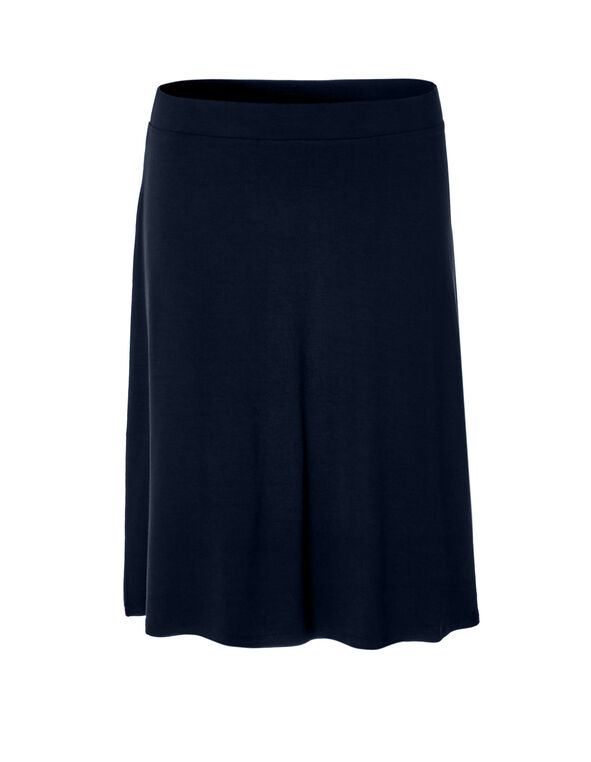 Navy Flippy Skirt, Navy, hi-res