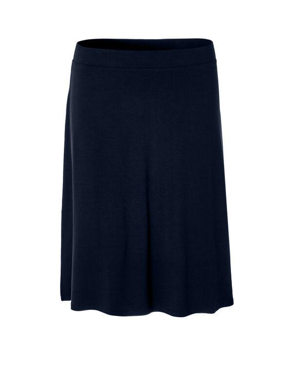 Navy Flippy Skirt, Navy, hi-res