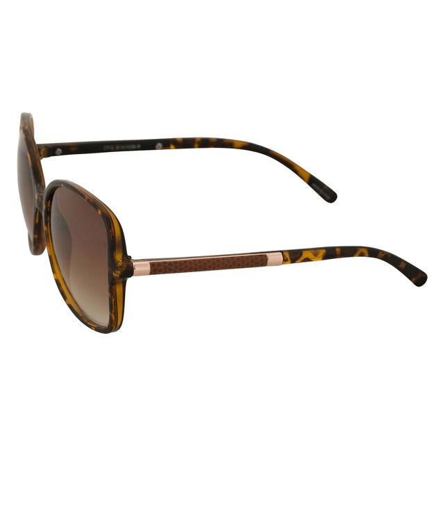 Wrapped Arm Sunglasses, Tortoiseshell, hi-res