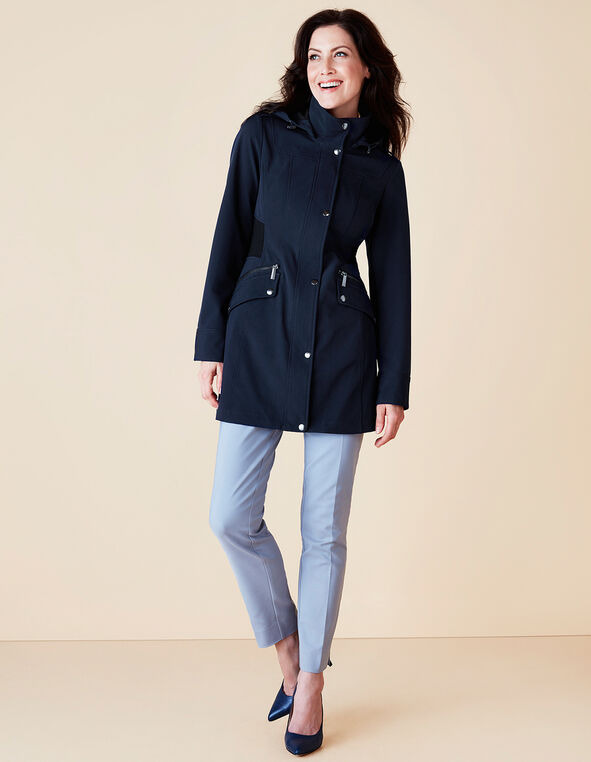 Navy Transitional Jacket, Navy, hi-res