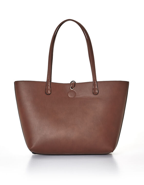 Tan Summer Tote Handbag, Tan/Copper, hi-res