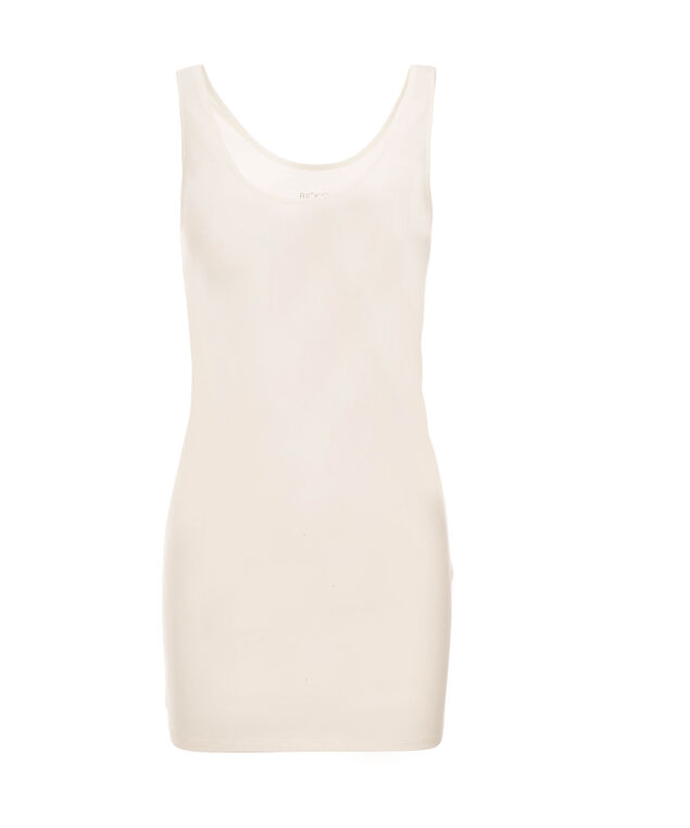 Tunic Length Cami, Ivory, hi-res