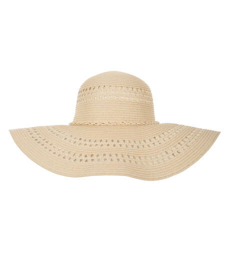 Floppy Sun Hat, Natural, hi-res
