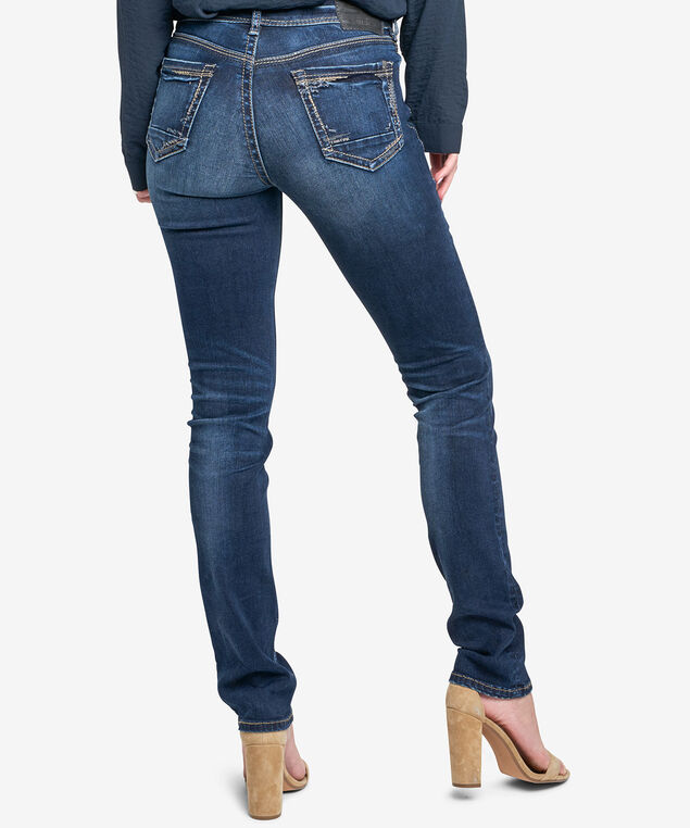 Silver Jeans Co. Avery Straight Jean, Denim, hi-res