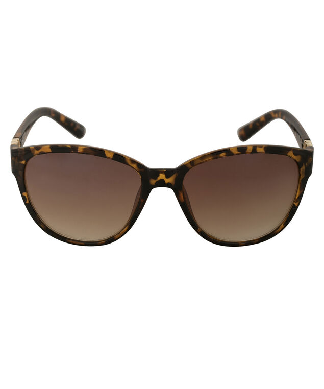 Diamond Arm Detail Sunglasses, Tortoiseshell/Gold, hi-res