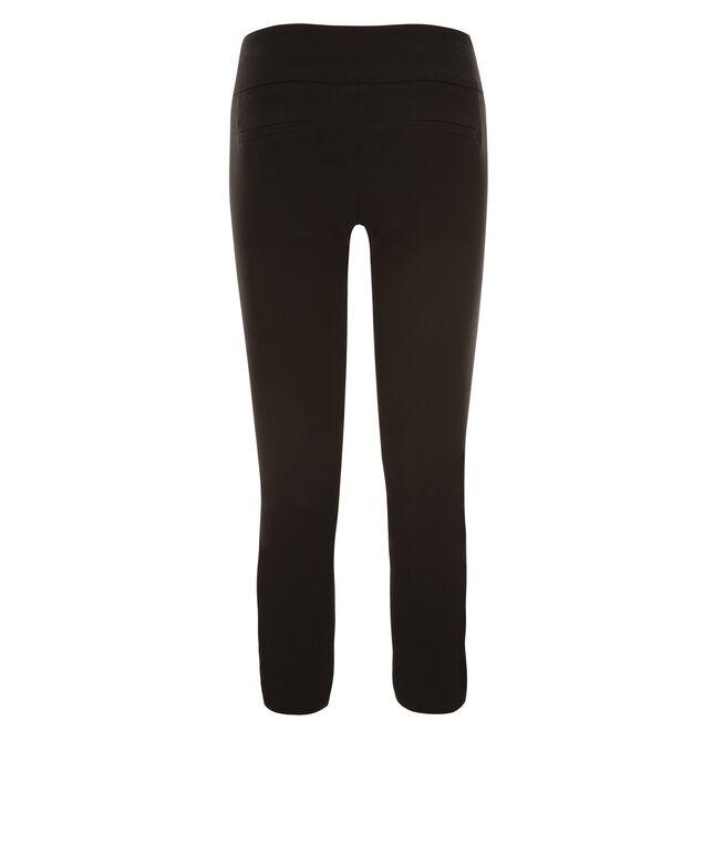 Microtwill Crop Super Slim Leg , Black, hi-res
