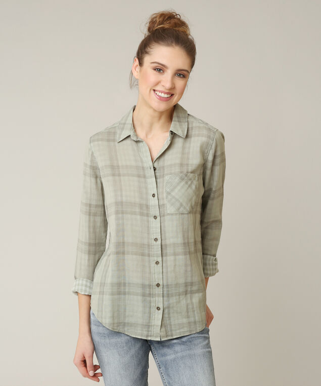 sullivan, OLIVE PLAID, hi-res