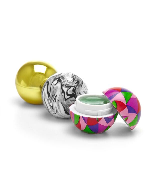 Multi-Coloured Lip Pod Set, Pink/Gold/Black/White, hi-res