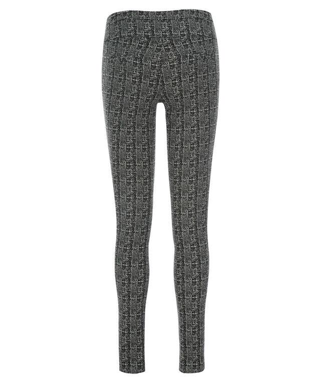 Microtwill Super Slim Leg, Black/White Plaid, hi-res