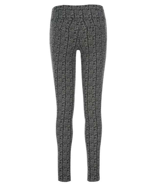 Microtwill Super Slim Leg - Short, Black/White Plaid, hi-res