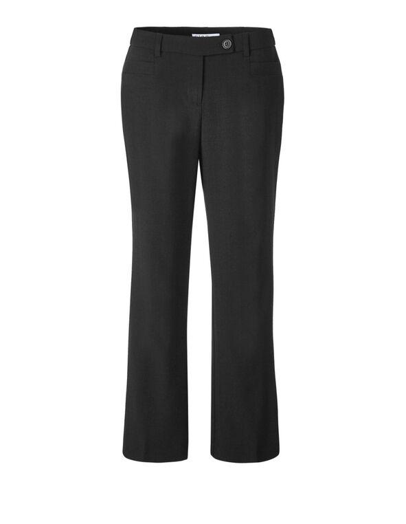 Classic Black Curvy Trouser, Black, hi-res