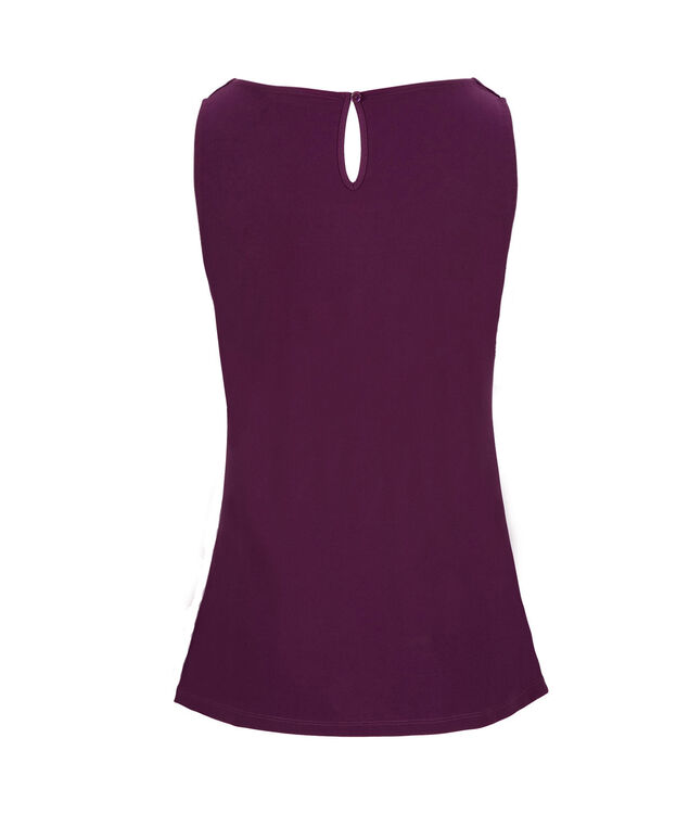 Pleated Tank, Ultra Purple, hi-res