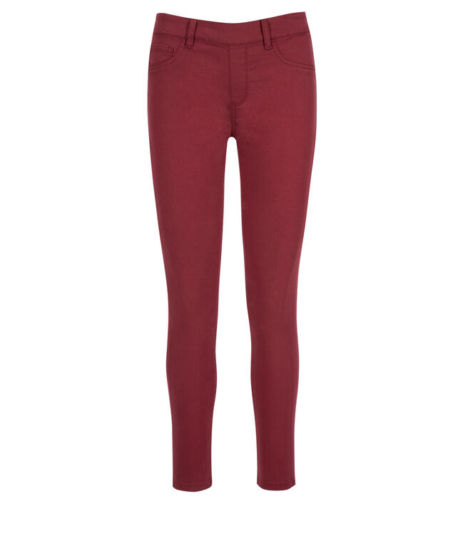 Ultimate Power Stretch Ankle Jegging, Cranberry, hi-res