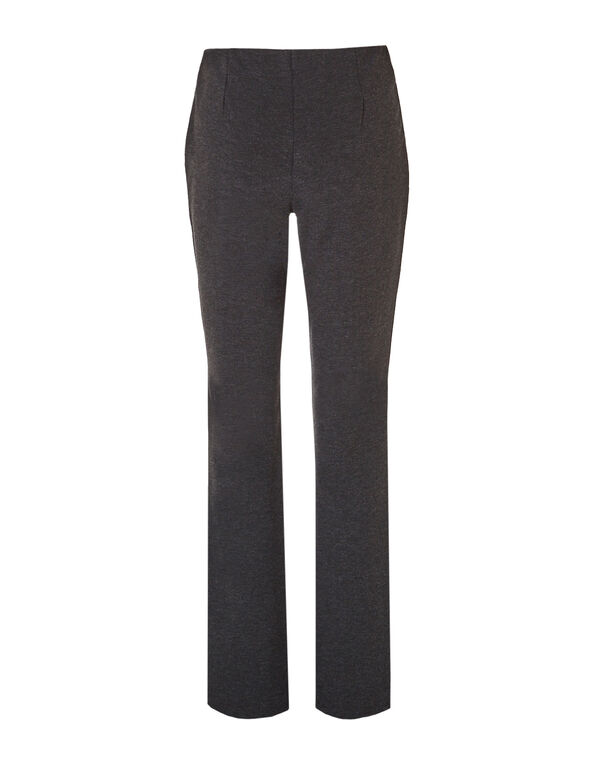 Gunmetal Pull-On Trouser Pant, Gunmetal, hi-res