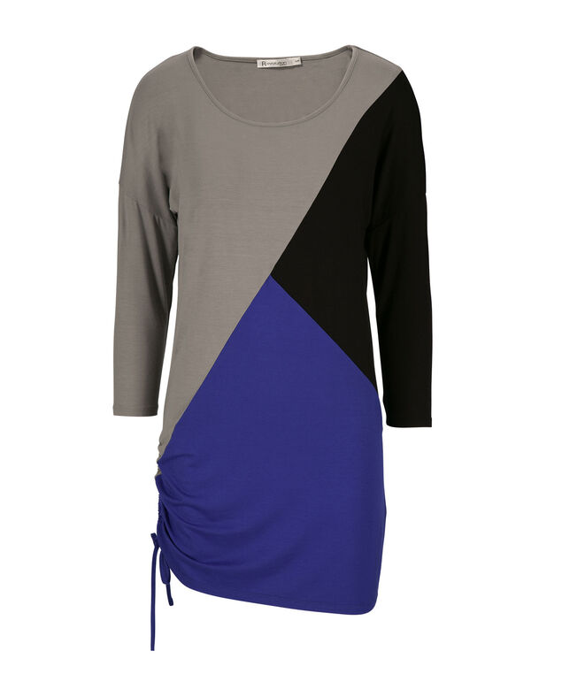Colourblock Tunic, Ultra Blue, hi-res