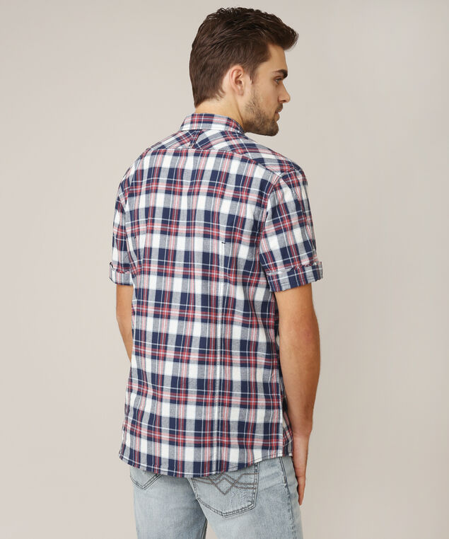 burke, NAVY PLAID, hi-res