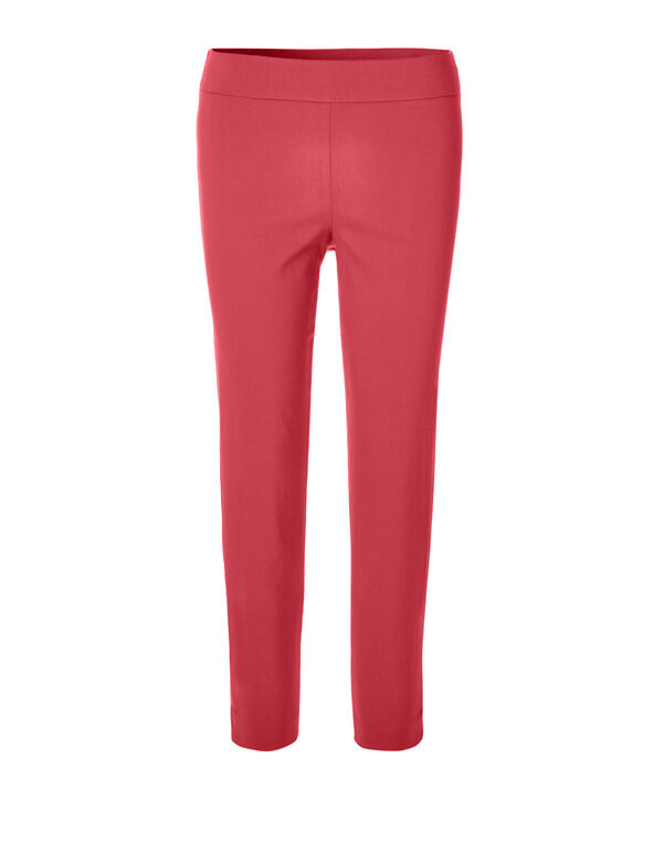Coral Signature Ankle Pant, Coral, hi-res