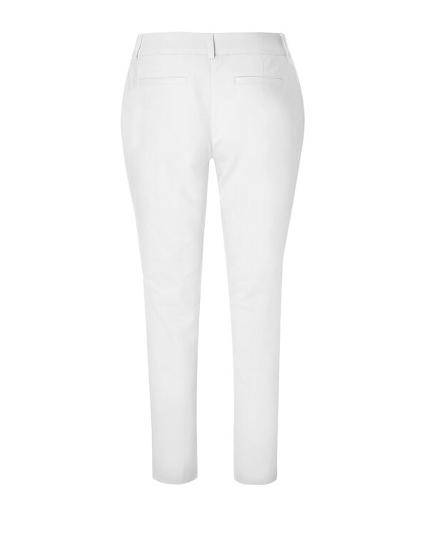 White Every Body Ankle Pant, White, hi-res