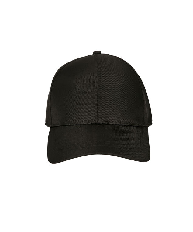 Nylon Baseball Cap, Black, hi-res