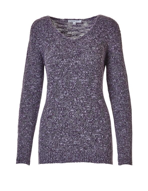 Boucle Sweater, Purple Haze, hi-res